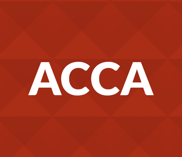 acca internal control and business As an internal auditor that's what you'll be credit control manager role: external the following acca options exams at professional level are also extremely.