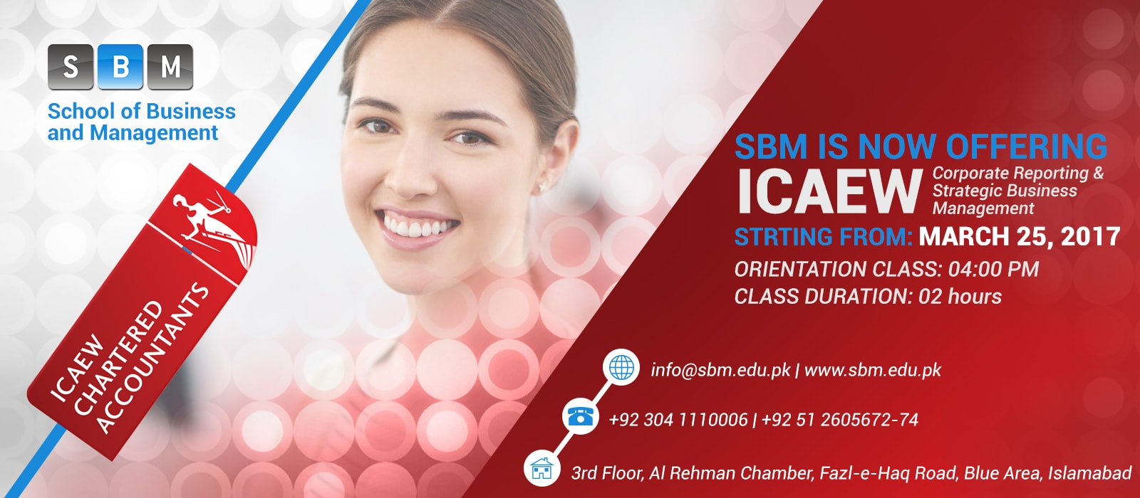 SBM is now offering ICAEW classes